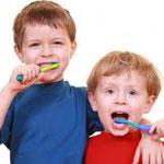 первые молочные зубы